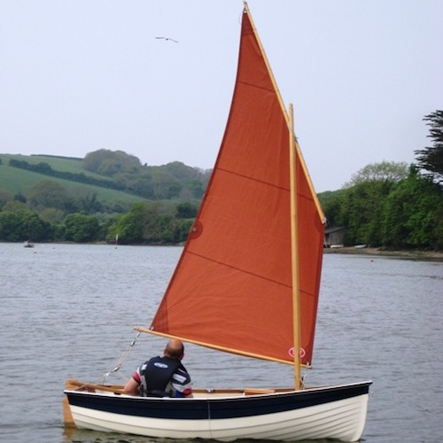 Nestaway 9ft Clinker Stem Nesting Dinghy - Nestaway Boats