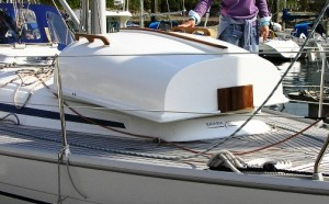 8ft_Nesting_pram_dinghy_on_deck_tender