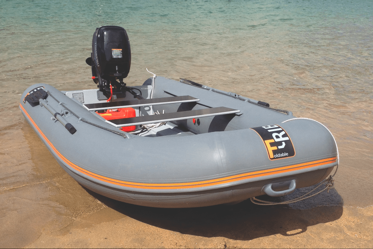 F rib foldable boats for sale uk for Best way to store an outboard motor