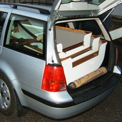VW Golf Estate (2mm spare)