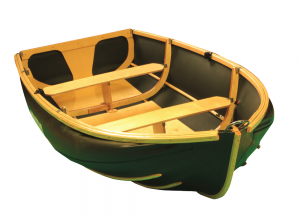 Nautiraid Coracle dinghy catalogue image