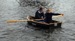 Nautiraid Coracle 250 rowing two up
