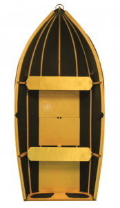 Nautiraid Coracle 250, as seen from above