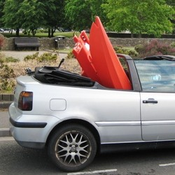 Two-piece in Golf Convertible