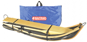 Nautiraid coracle 190 folded with bag