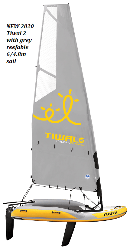 Tiwal 2 reefable sail