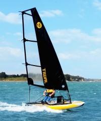 Tiwal image, fast sailing