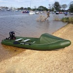 Spearfish inflatable canoe Beach 2 feat image