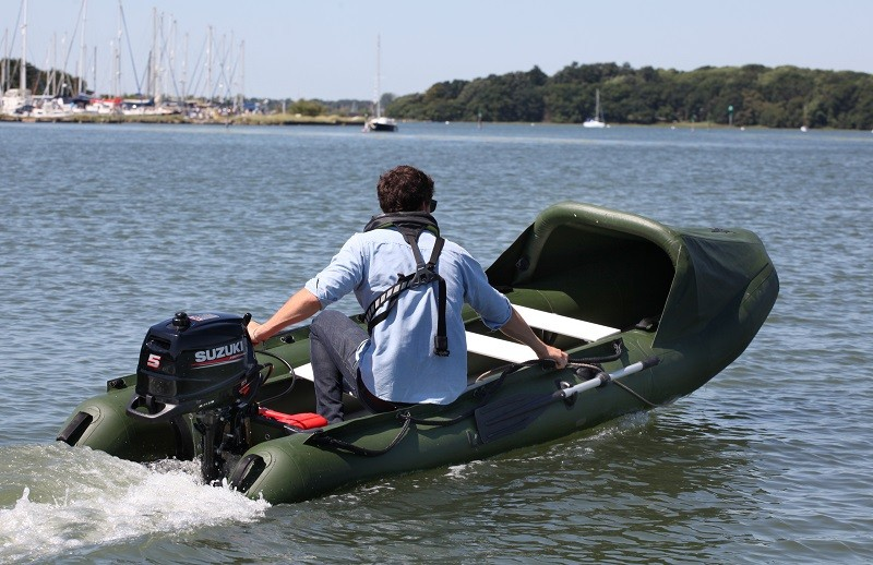 Nestaway Spearfish 15 with Suzuki 5hp