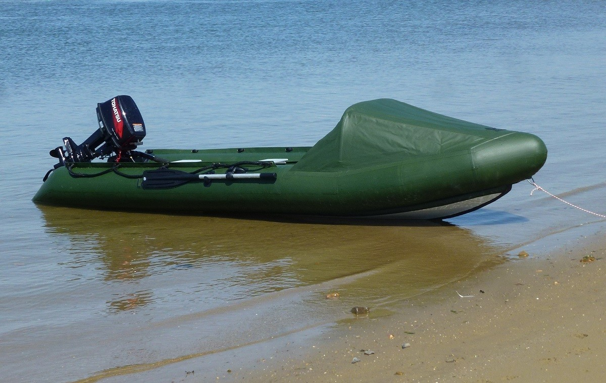 Spearfish Inflatable Motor Canoe