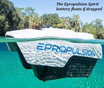 Epropulsion Spirit floating battery